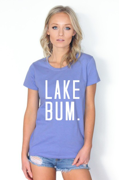LAKE BUM GRAPHIC TOP - orangeshine.com