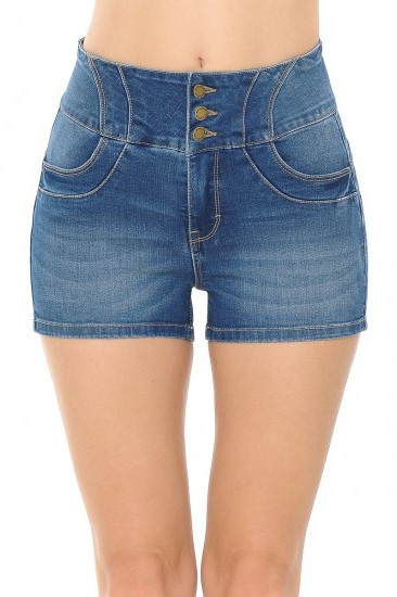 TUMMY-TUCKING WAIST SHORTS - orangeshine.com