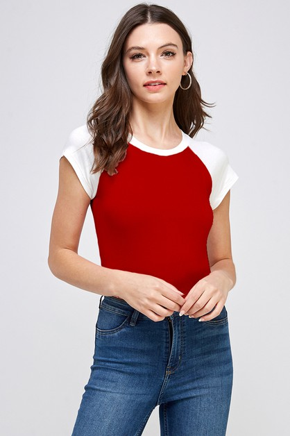 Short Sleeve Bodysuit - orangeshine.com