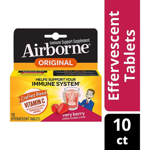 Airborne Very Berry 10 Count - orangeshine.com