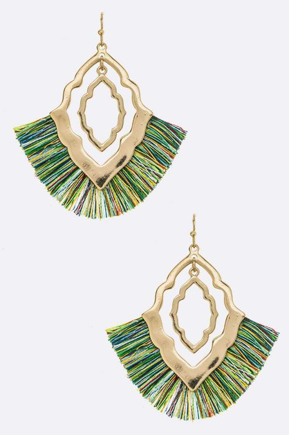 Iconic Tassel Fashion Earrings - orangeshine.com