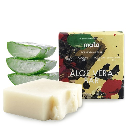 Mata Aloe Vera Hand and Body Soap - orangeshine.com