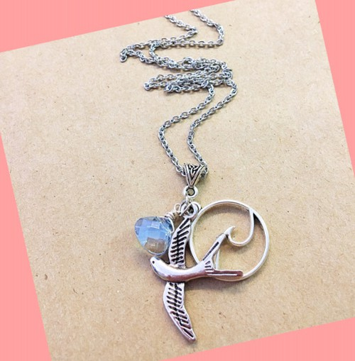 Ocean bird necklace - orangeshine.com