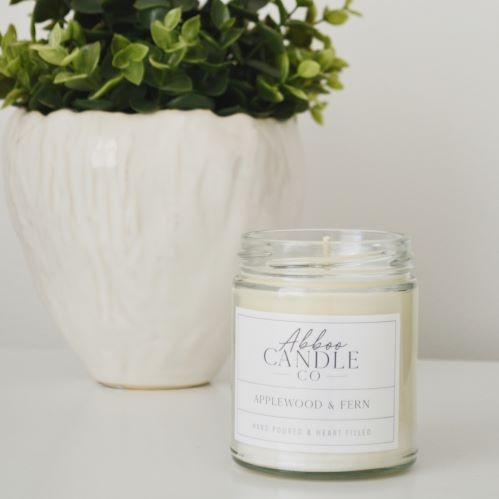 Applewood & Fern Soy Candle - orangeshine.com