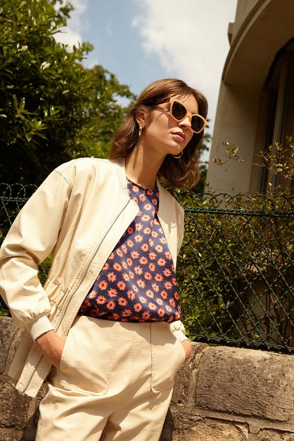 LETTY - WOMENS WOVEN JACKET - orangeshine.com