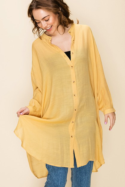 KEEP IT TOGETHER SHIRT DRESS - orangeshine.com