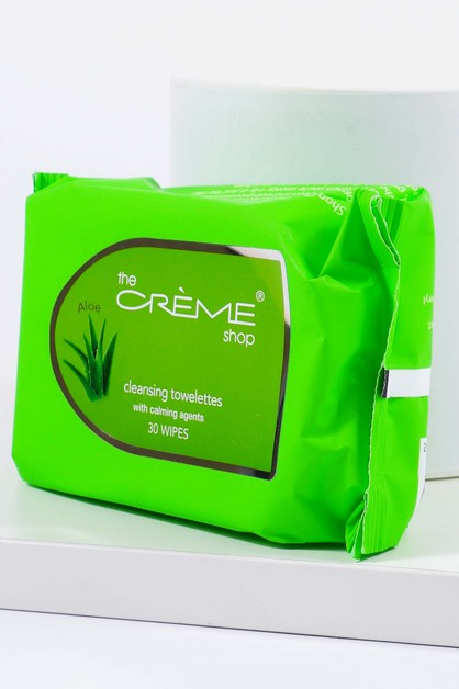 Aloe Vera Cleansing Wipes - orangeshine.com