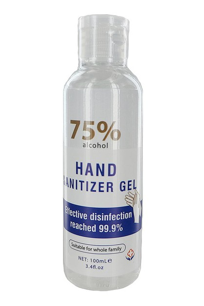 Hand Sanitizer Gel - orangeshine.com