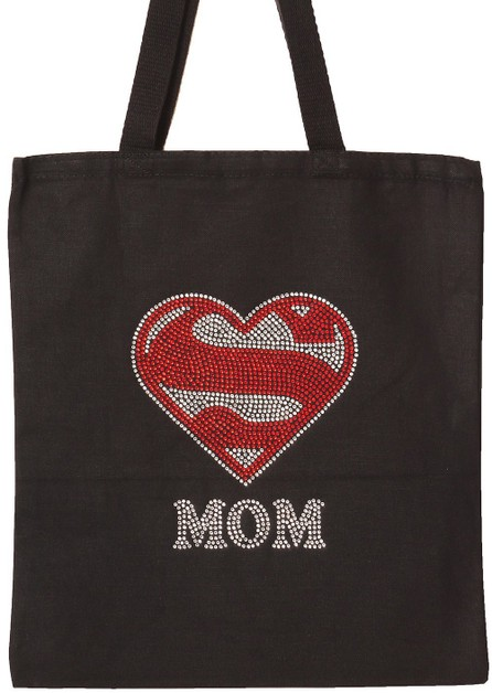 SUPER MOM Tote Bag - orangeshine.com