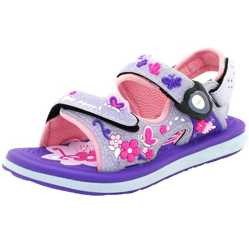 Kids Classic Sandal 9203B Purple - orangeshine.com