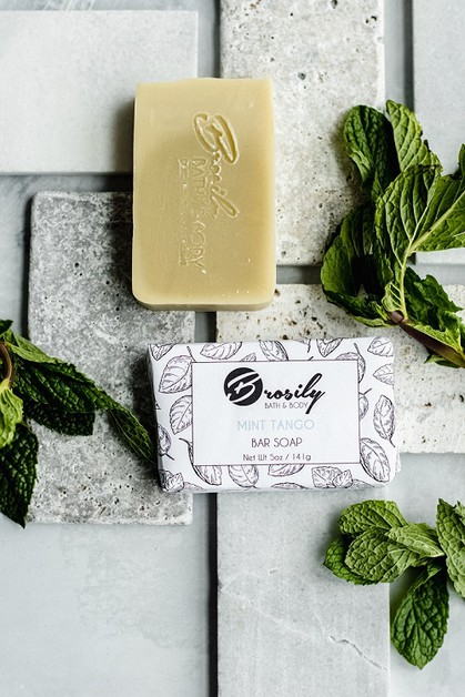 Mint Tango Vegan Soap - orangeshine.com