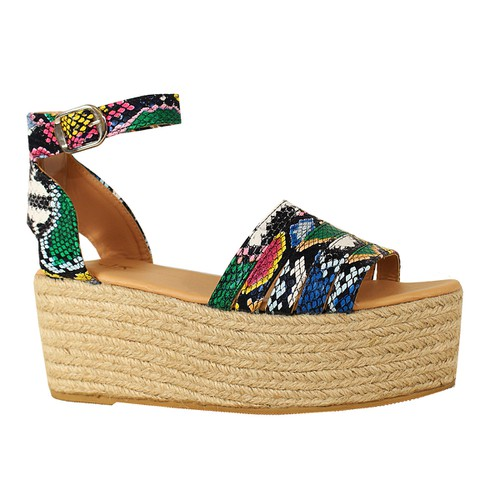 PI PEEP TOE OPEN ESPADRILLE WEDGE WI - orangeshine.com