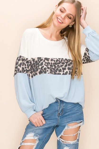 Cute Relaxed  Pull Over Sweater Top  - orangeshine.com