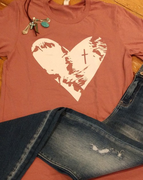Distressed Heart - orangeshine.com