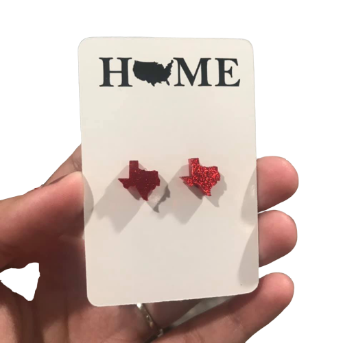 STATE STUD EARRINGS - ANY STATE - orangeshine.com