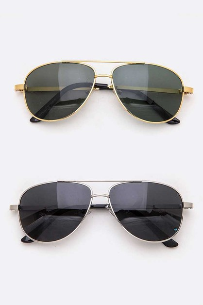 Polarized Aviator Sunglasses Set - orangeshine.com