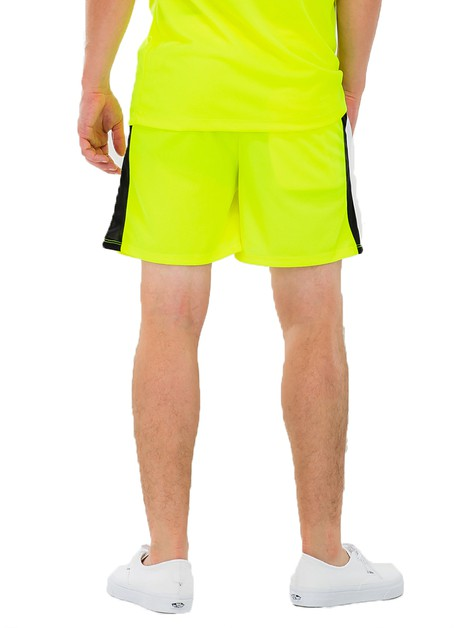 Neon Lime Green Chevron Shorts - orangeshine.com