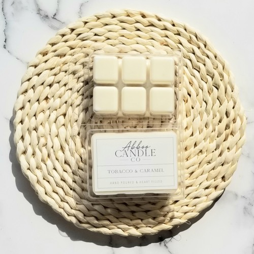Tobacco & Caramel Soy Wax Melts - orangeshine.com