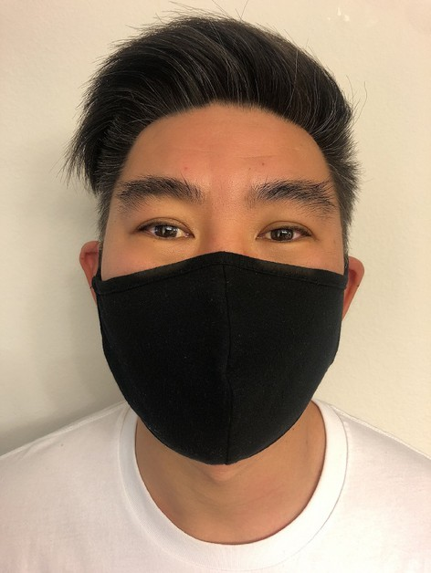 cotton filter pocket mask - orangeshine.com