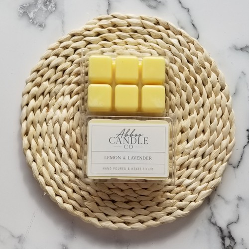 Lemon & Lavender Soy Wax Melts - orangeshine.com