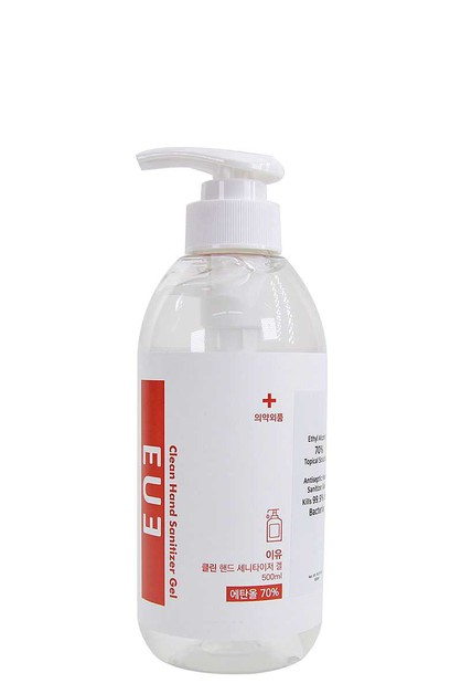 EUE HAND SANITIZER GEL 500 ML - orangeshine.com