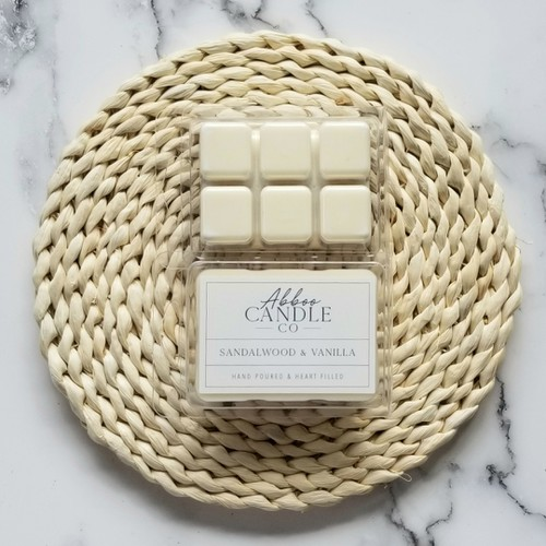 Sandalwood & Vanilla Soy Wax Melts - orangeshine.com