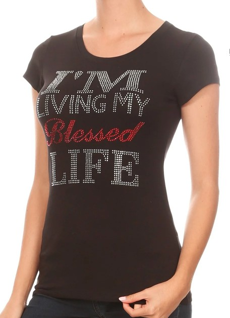 I`M LIVING MY Blessed LIFE  - orangeshine.com