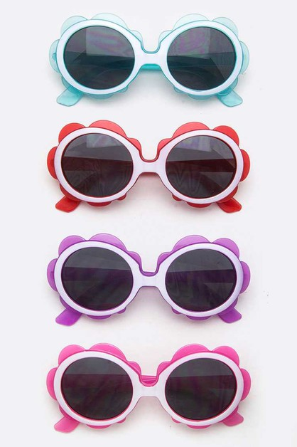 Kids Size Flower Sunglasses - orangeshine.com