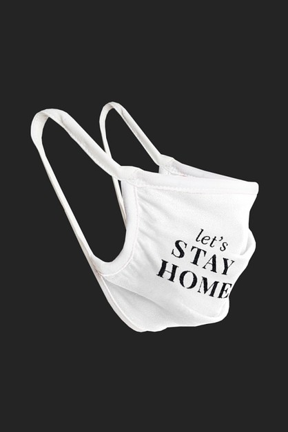 STAY HOME MASK-10 - orangeshine.com