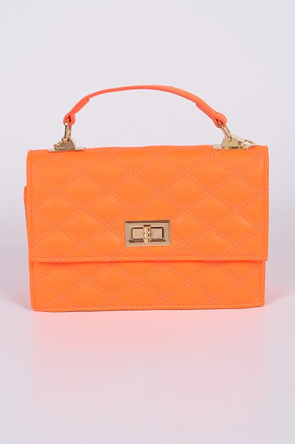 Poly Diamond Style Clutch - orangeshine.com