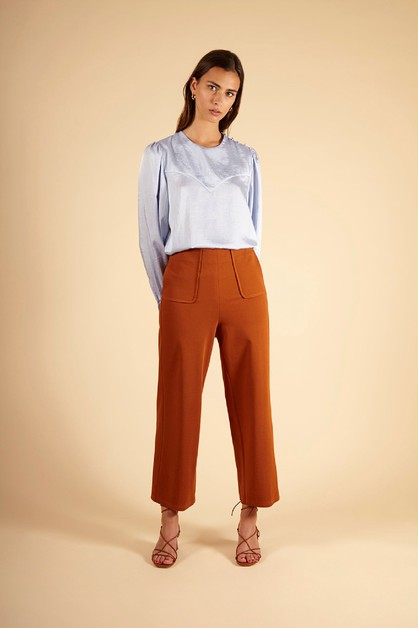PHEDRA - WOMENS WOVEN PANTS - orangeshine.com