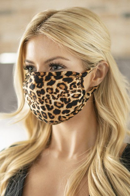 PRINTED REUSABLE FACE MASK FOR ADULT - orangeshine.com