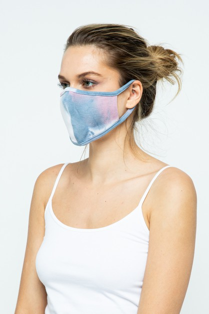 Blue Fabric Face Mask - 12 Pack - orangeshine.com