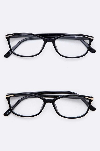 Clear Lens Optical Glasses - orangeshine.com
