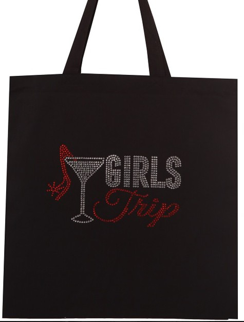 GIRLS TRIP Cotton Tote Bag - orangeshine.com