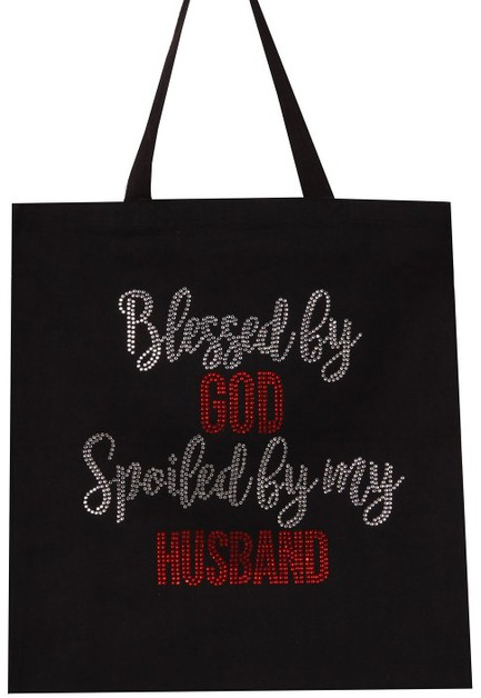 Blessed by GOD Spoiled by My HUSBAND - orangeshine.com