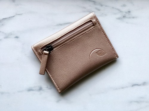 Rose Gold Card Wallet - orangeshine.com