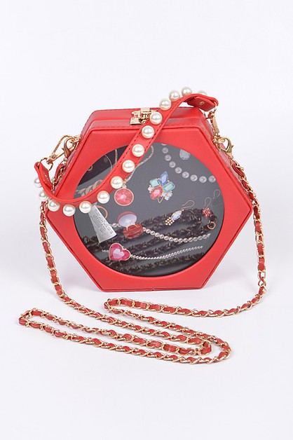 Jewelry Box Clutch Iconic Swing Bag - orangeshine.com
