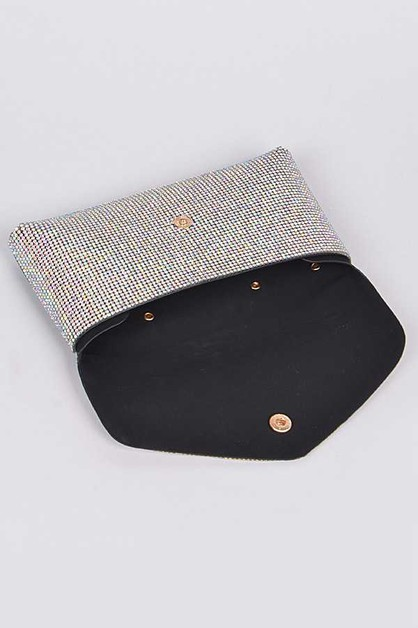 Crystal Studded Belt Bag - orangeshine.com