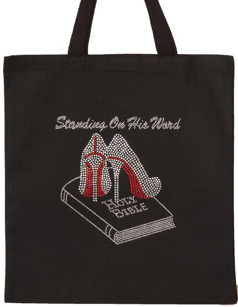 Standing on His Word Tote - orangeshine.com