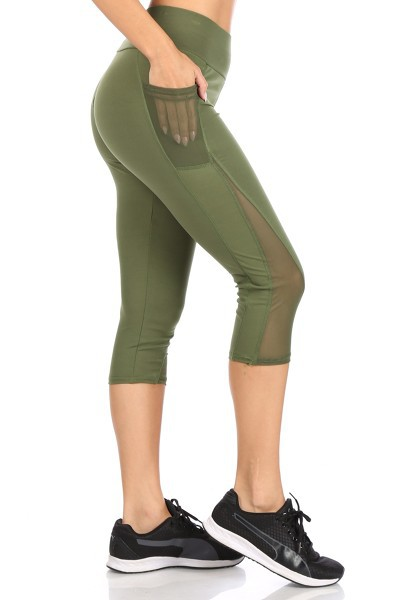 Sports Capris Leggings Yoga Active - orangeshine.com