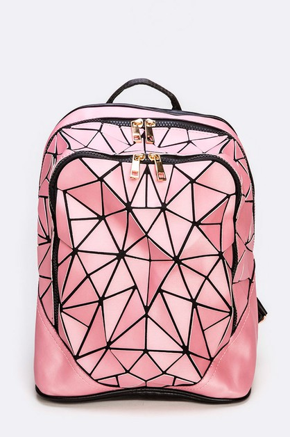 Geo Structure Iconic Backpack - orangeshine.com