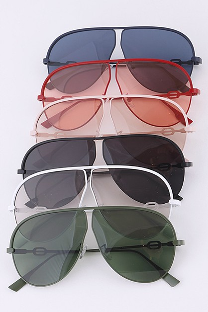 Aviator Color Tint Iconic Sunglasses - orangeshine.com