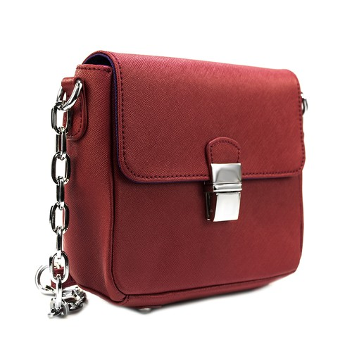 Tiny Leather Crossbody - orangeshine.com