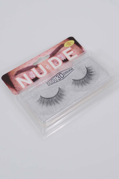 3D Human Hair Lashes - orangeshine.com