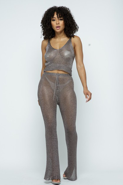 METALLIC PANTS - orangeshine.com