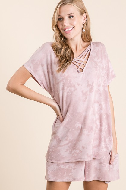Sociable Tie Dye PJ Set - orangeshine.com