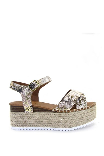 Women Espadrilles Band Sandals - orangeshine.com