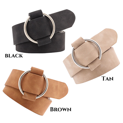 Lulu Belt -Tan - orangeshine.com