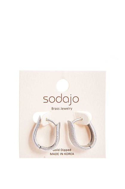 SODAJO GOLD DIPPED FASHION BRASS EAR - orangeshine.com